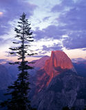 Half Dome from Glacier Point. Half Dome photographed from Glacier Point in Yosemite National Park, California Stock Photo
