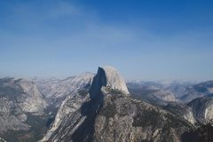 Half Dome Glacier Point royalty free stock images