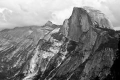 Half Dome From Glacier Point, Yosemite National Park Stock Photo
