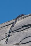 Half Dome Hike Stock Photos