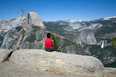 Half Dome Royalty Free Stock Images