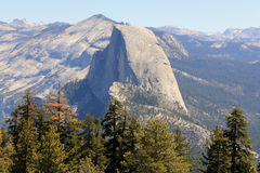 Half Dome. Looking towards Half Dome from Sentinel stock photos