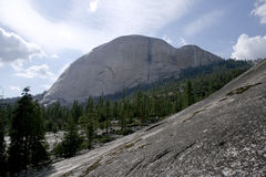Half Dome From LYV Royalty Free Stock Photography