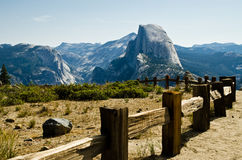 Half Dome. Most famous landmark in National parks in California USA Stock Image