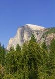 Half dome mountain Stock Image