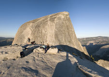 Half Dome peak Royalty Free Stock Image