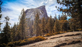Half Dome Ridge royalty free stock images