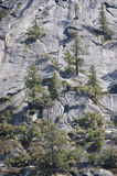 Half Dome rock formation Royalty Free Stock Photos