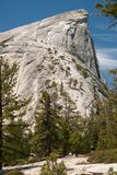 Half Dome rock formation Royalty Free Stock Photography