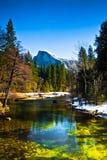 Half Dome Rock , the Landmark of Yosemite National Park,California. United States Royalty Free Stock Image