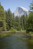Half Dome from Sentinel Bridge Stock Photography