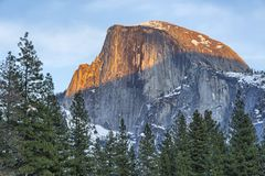Half Dome from Sentinel Bridge Royalty Free Stock Photography