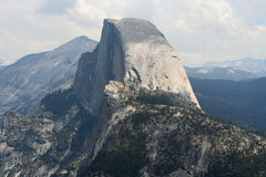 Half Dome from Sentinel Dome. Yosemite NP Royalty Free Stock Images