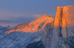 Half Dome at Sunset Stock Images