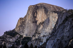 Half Dome after Sunset royalty free stock photos
