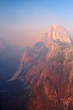 Half Dome at Sunset, Yosemite Valley Stock Photo