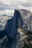 Half Dome and Surrounding mountain peaks Yosemite National Park Royalty Free Stock Images