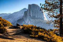 Half Dome Trail View Royalty Free Stock Photography
