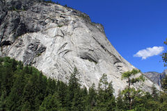 Half Dome from Vernal Falls Royalty Free Stock Images