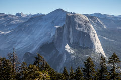 Half Dome View from Sentinel Dome Royalty Free Stock Image