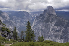 Half Dome Weather Royalty Free Stock Images