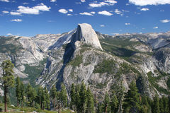 Half Dome from West Royalty Free Stock Photo