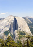 Half Dome in Yosemite. National park seen from sentinel dome Stock Photo
