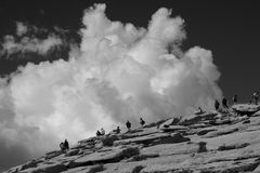 Half Dome at Yosemite  Stock Image
