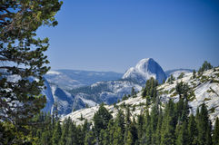 Half Dome, Yosemite Royalty Free Stock Image
