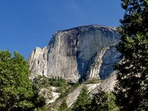 Half Dome of Yosemite Stock Images