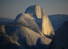 Half Dome, Yosemite. The iconic landmark Half Dome at sunset, captured from Olmsted Point in Yosemite National Park, California Royalty Free Stock Images