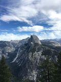 Half Dome in Yosemite, California royalty free stock image