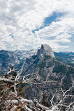 Half Dome in Yosemite. Most famous landmark in National parks in California USA Stock Image