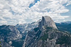 Half Dome in Yosemite. Most famous landmark in National parks in California USA Stock Photos