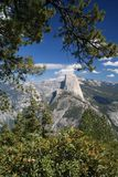 Half Dome at the Yosemite National Park Stock Photo
