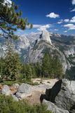 Half Dome at the Yosemite National Park Stock Image