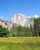 Half Dome. Yosemite National Park Royalty Free Stock Images