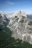Half Dome, Yosemite National Park. Half dome from glacier point, yosemite national Park, ca, usa Stock Images