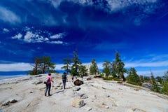 Free Half Dome - Yosemite National Park Stock Image - 57634081