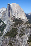 Half Dome. The Half Dome in the Yosemite National Park Royalty Free Stock Images