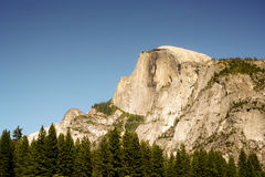 Half Dome. At Yosemite National Park stock photos