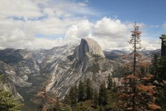Half Dome, Yosemite National Park, California Stock Images