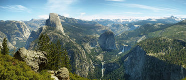 Half Dome in Yosemite National Park. California Royalty Free Stock Image