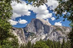 Half Dome in Yosemite Stock Photography
