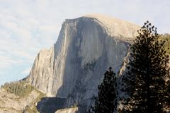 Half Dome, Yosemite National Park, California, from Curry Village Royalty Free Stock Photos