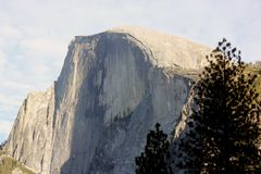 Half Dome, Yosemite National Park, California, from Curry Village Stock Images