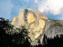 Half Dome in Yosemite Stock Images
