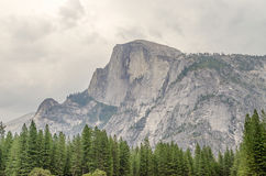 Half Dome, Yosemite National Park, California, stock photo