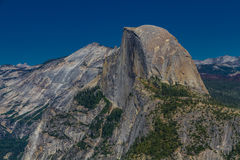 Half Dome in Yosemite National Park Stock Image