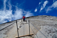 Half dome - Yosemite National Park Stock Photos